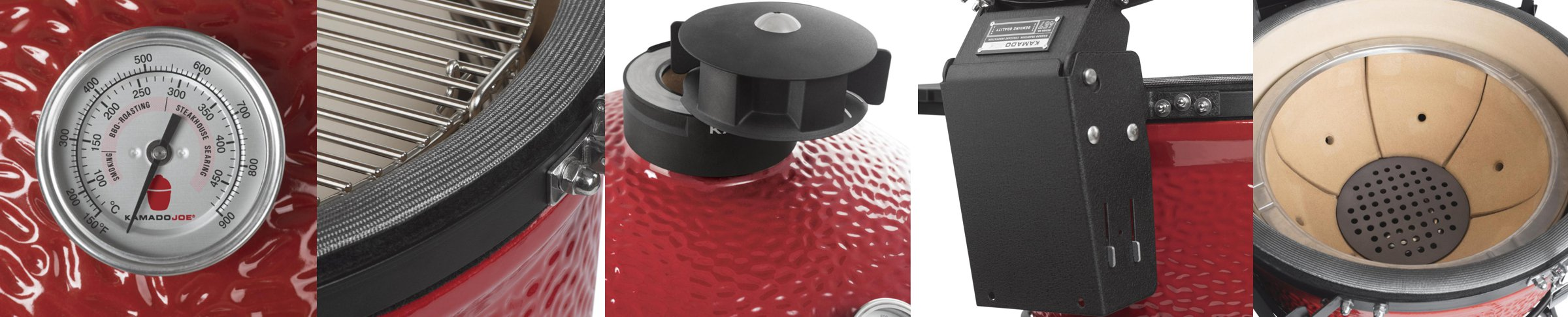 Обзор гриля Kamado Joe Big II Red
